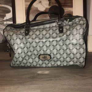 Ralph Lauren Mono Boston Bag !!